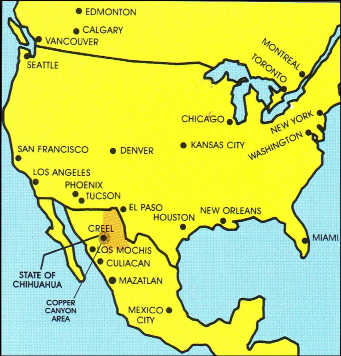 Mexico's Copper Canyon: The Tarahumara Homeland