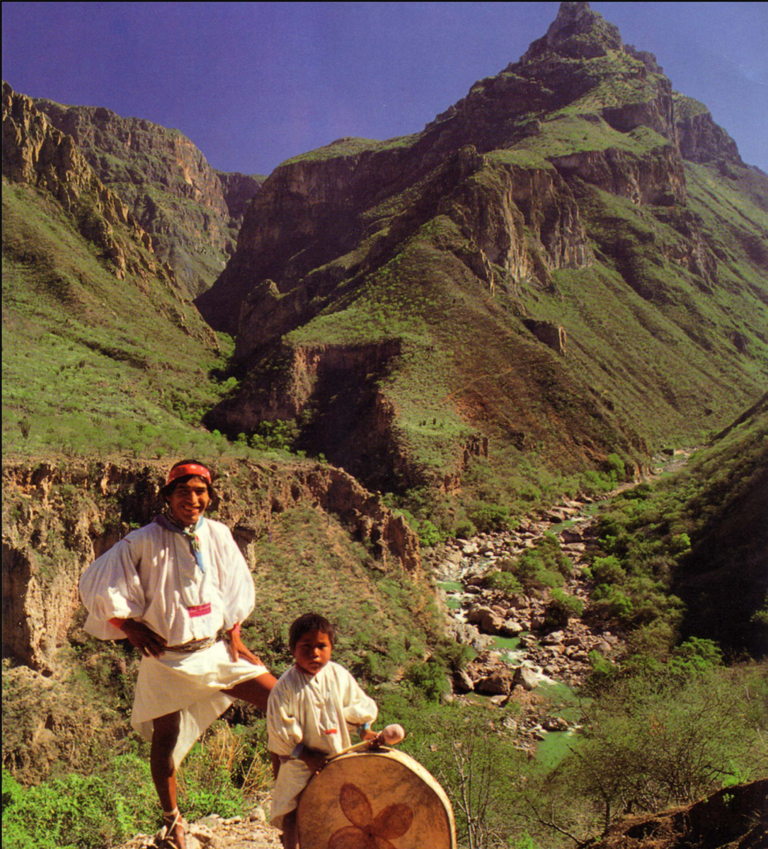 The Tarahumara people have made the Copper Canyon their home for centuries.