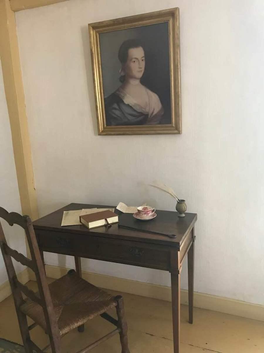 Abigail Adams' desk