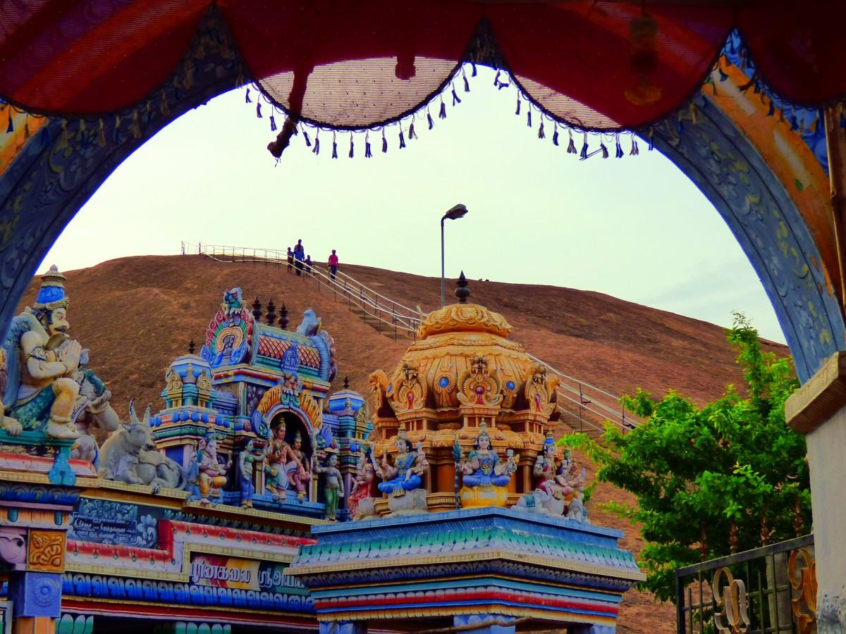 The Colorful Entrance to Samanar Malai