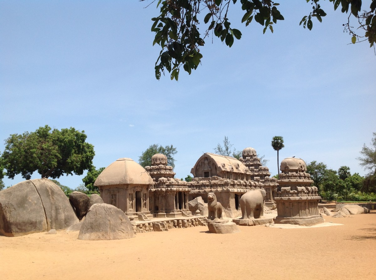 Pancha Pandava Rathas, Mamallapuram