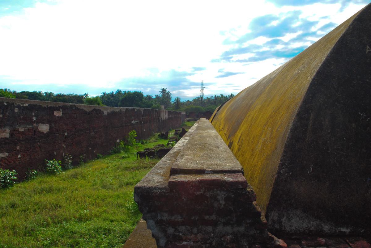 A view inside Danish Fort, Sadras