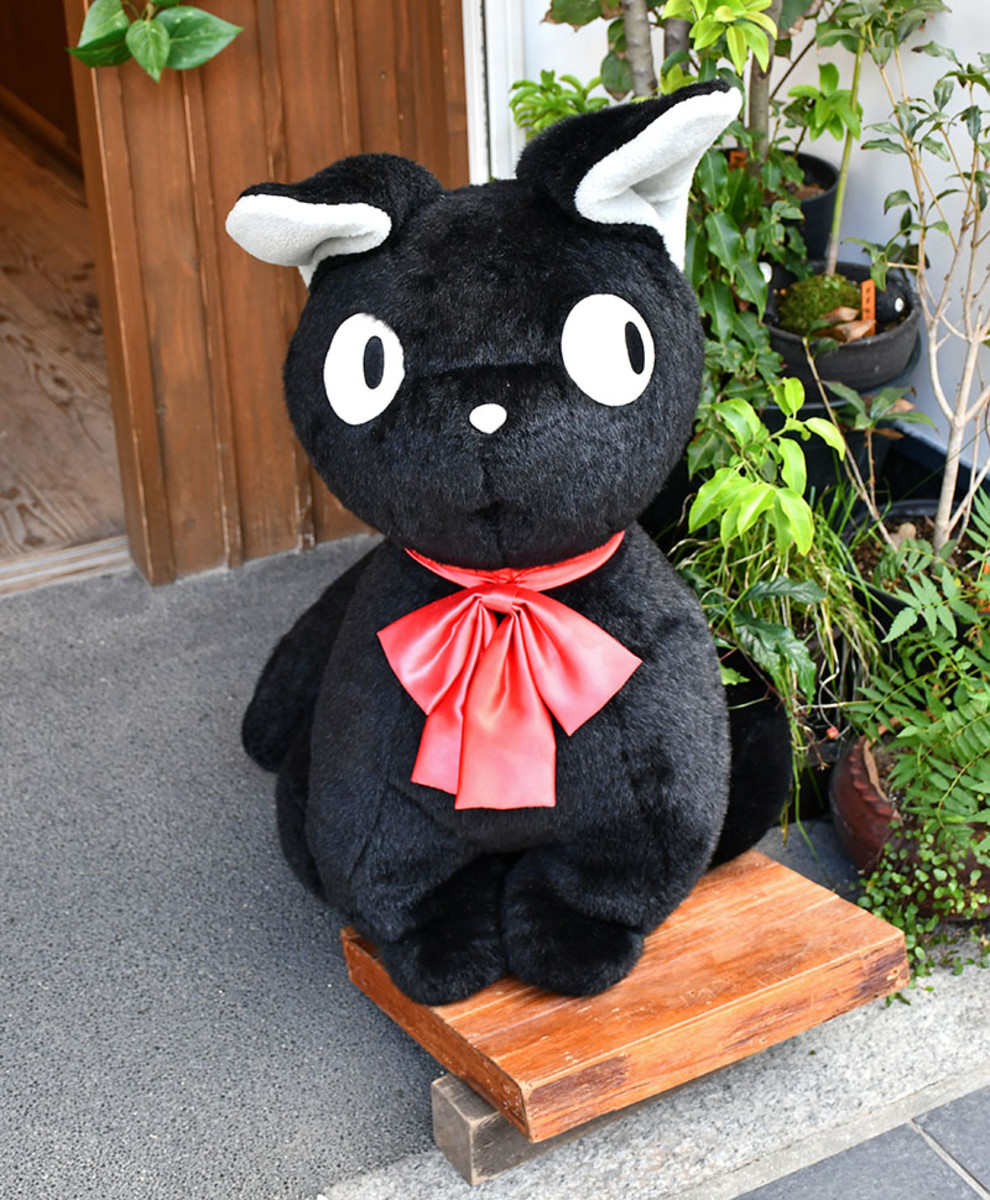Jiji and other popular Studio Ghibli characters can be seen all over Japan.