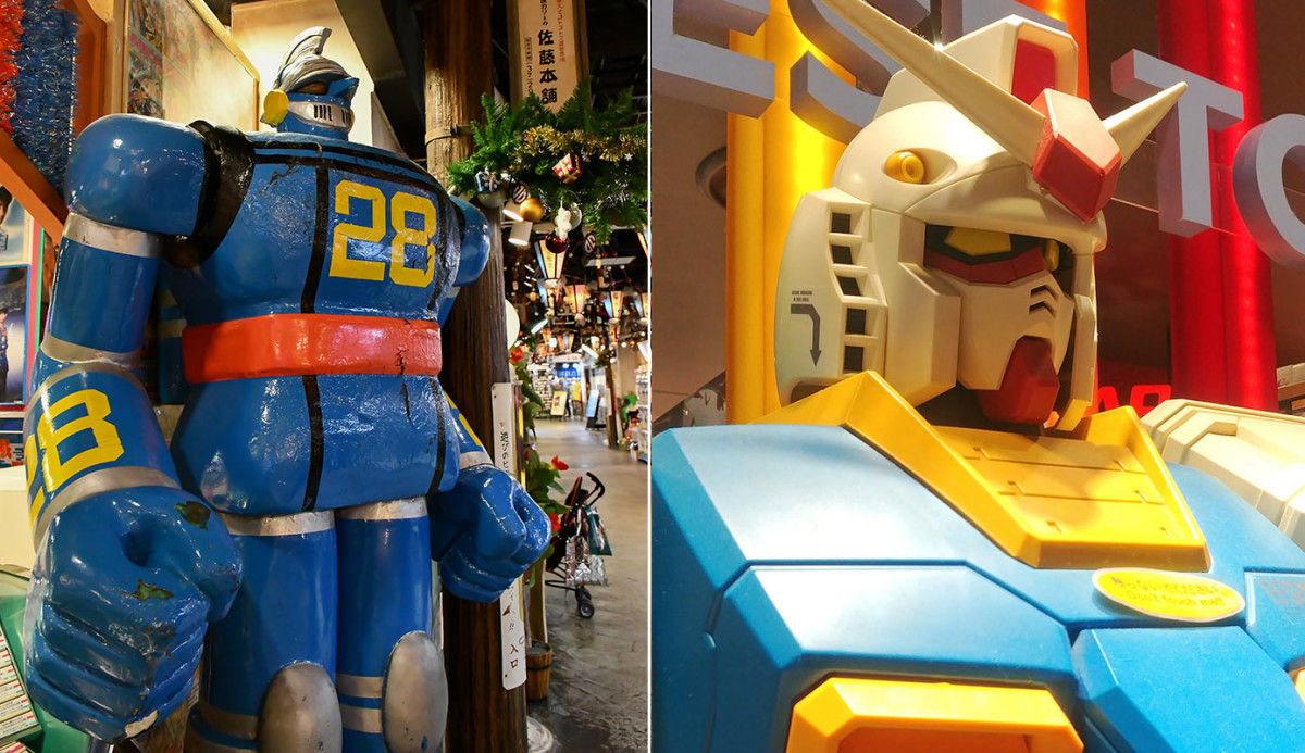 The sentries of manga and anime culture in Japan.