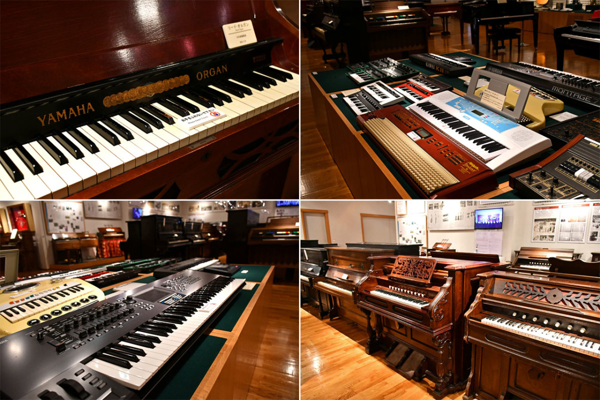 No other attraction or museum in Japan celebrates Japanese-made music keyboards so enthusiastically.