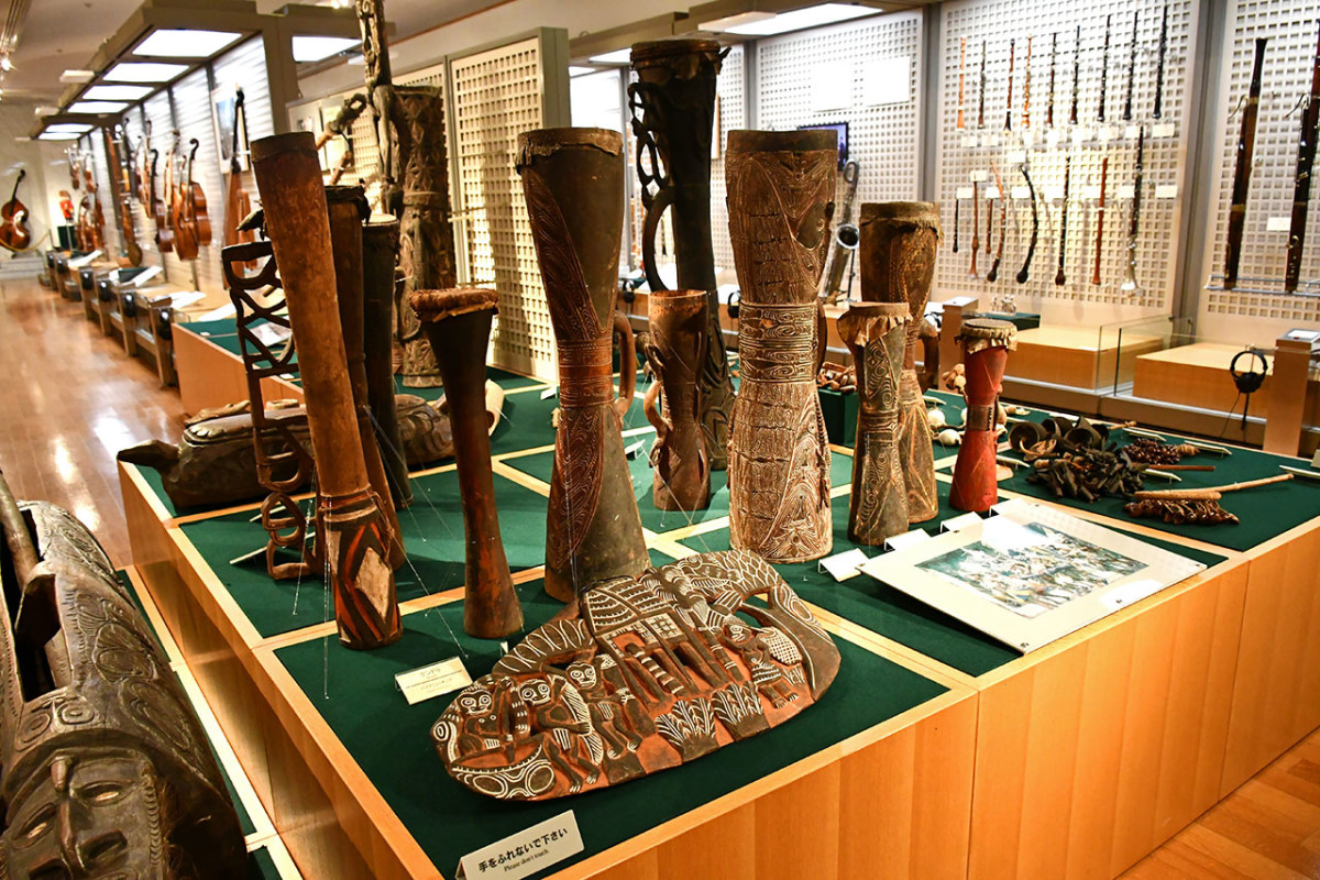 Kundu Drums from Papua New Guinea.