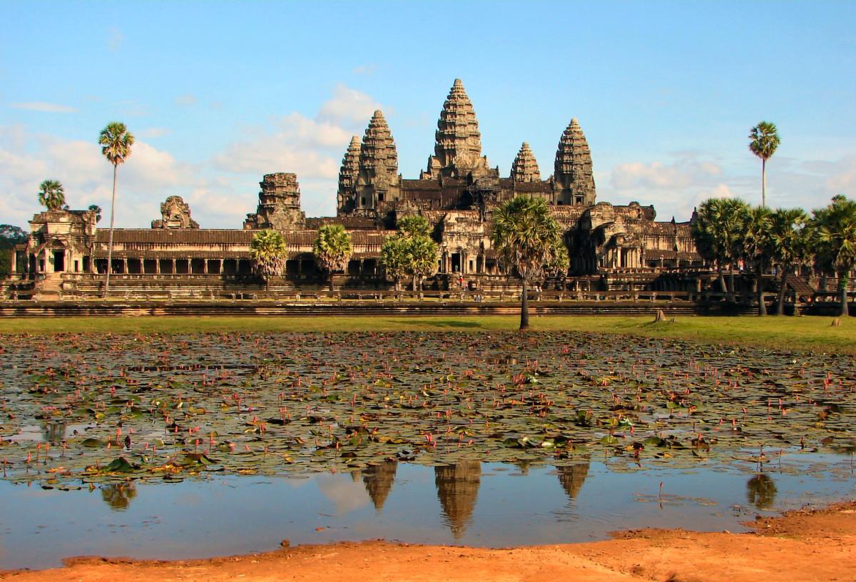 Angkor Wat, the Main Temple