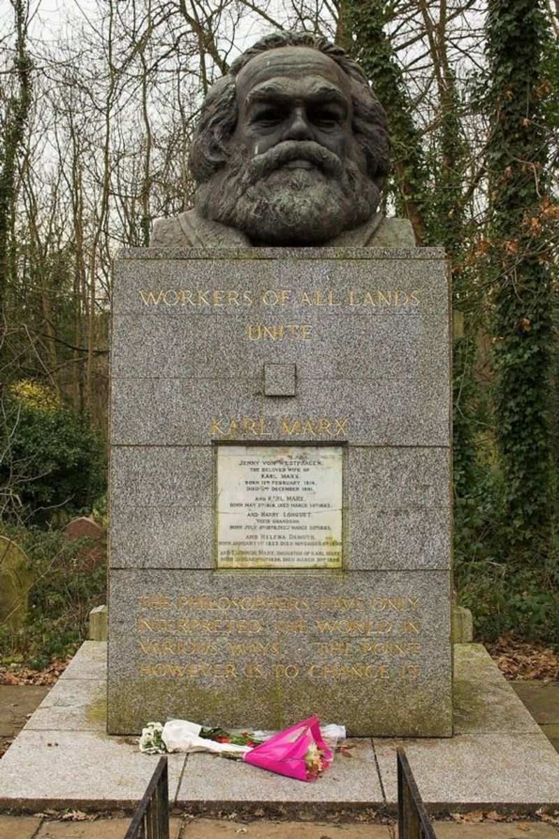 Karl Marx's Memorial Tomb