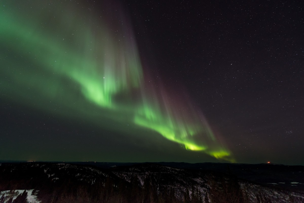 Visit in winter to see the Northern Lights.