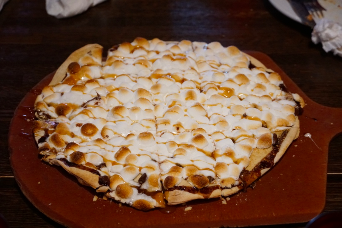 S'mores Pizza at Flo and Santo's