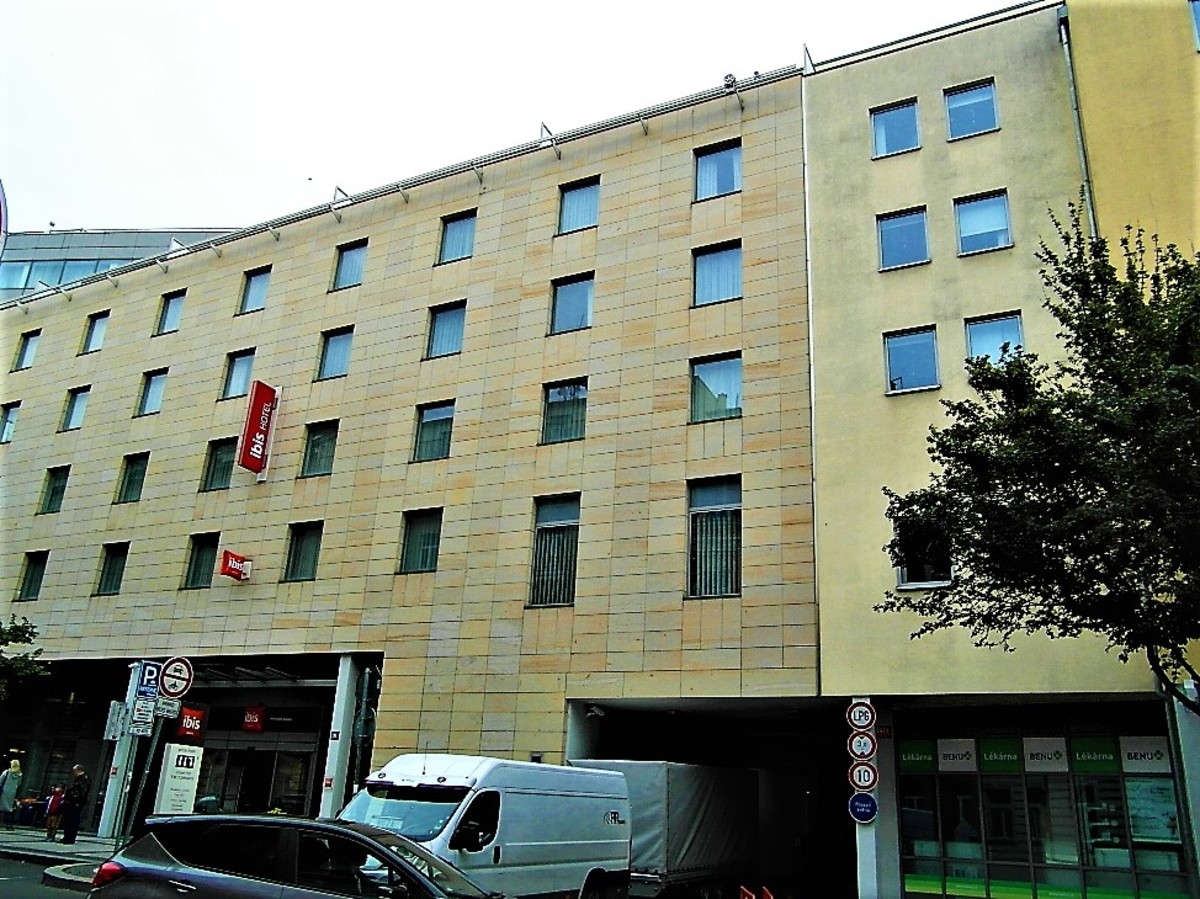 Exterior of Ibis Prague Wenceslas Square
