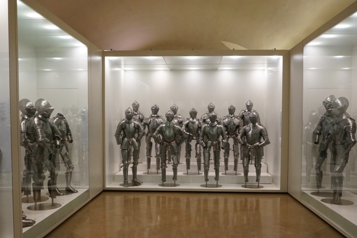 Inside the Alcazar's Military Museum.