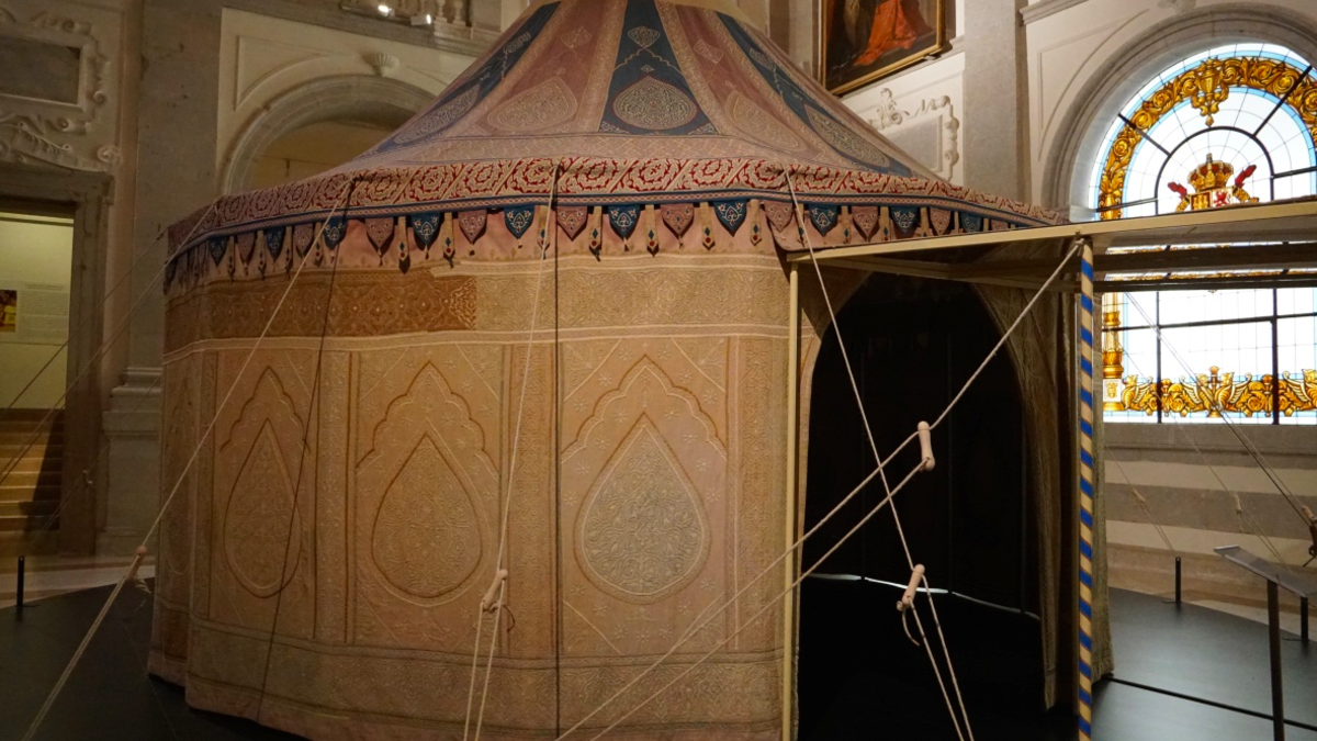Tent of Charles V at the Alcazar