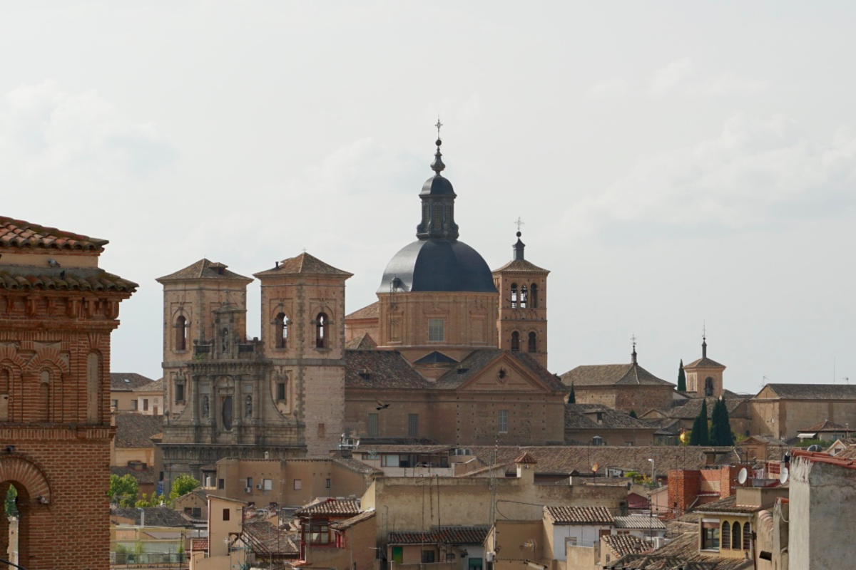 View of the cathedral from the terrace of the Alcazar