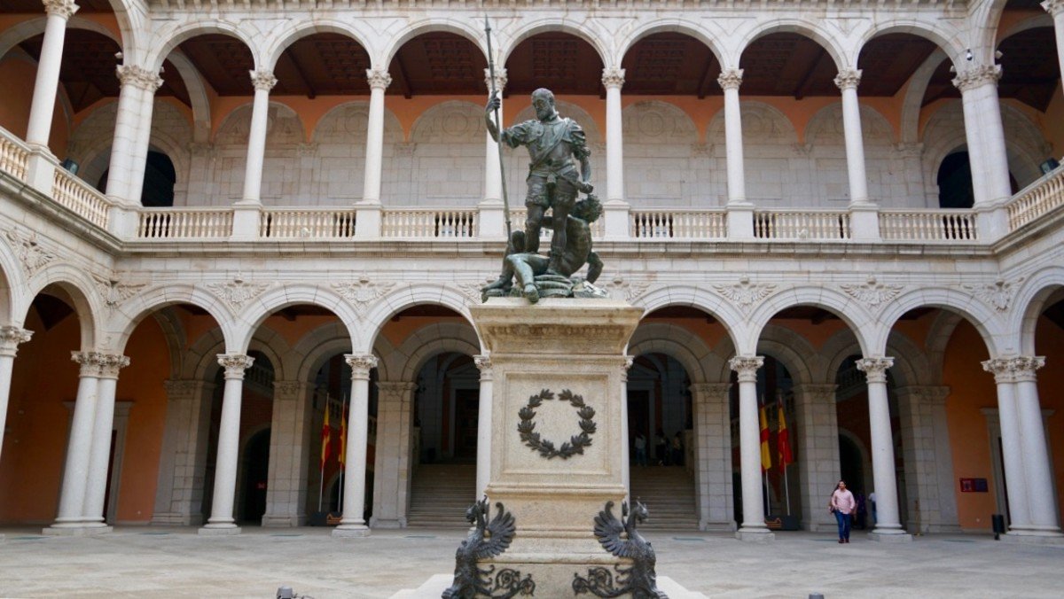 The Charles V Courtyard