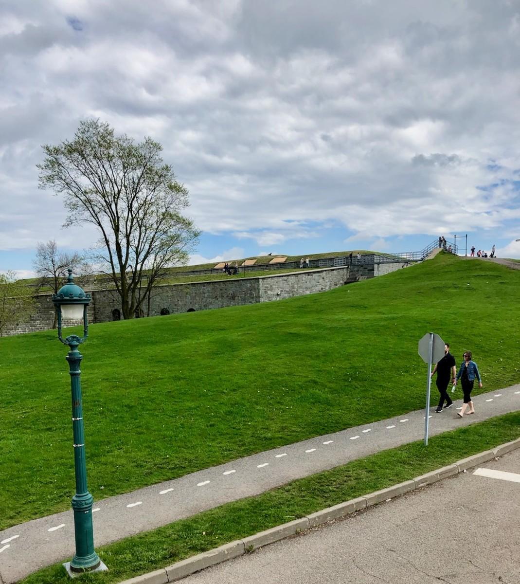 Plains of Abraham in Québec