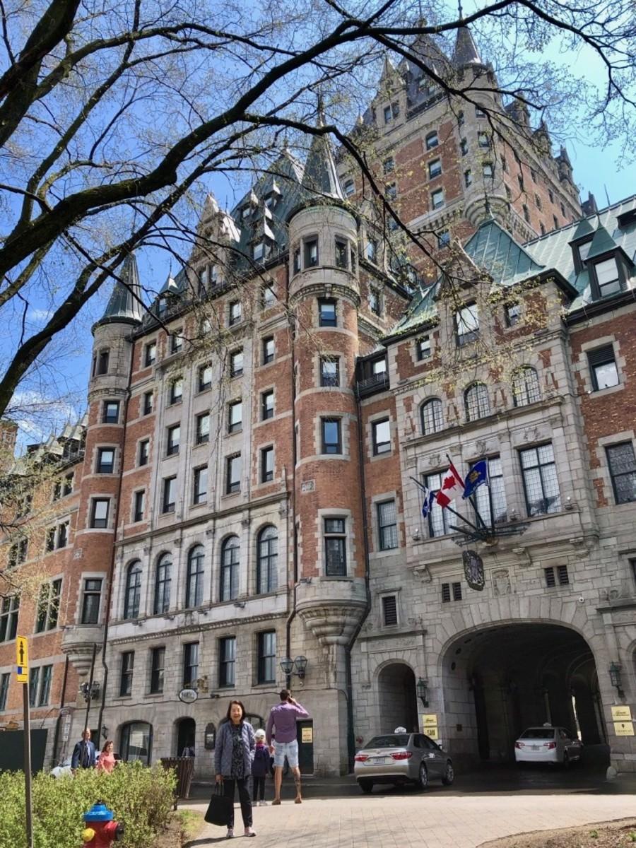 Québec's Château Frontenac