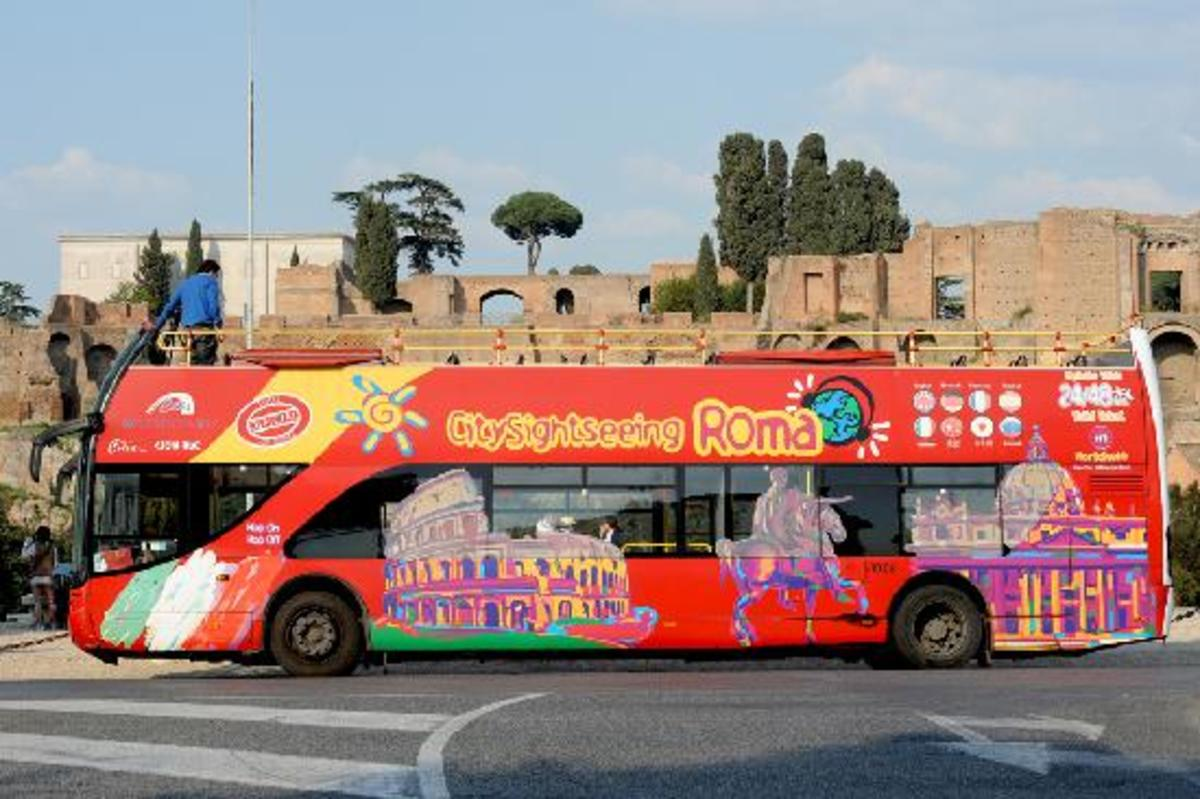 City Sightseeing Bus Rome