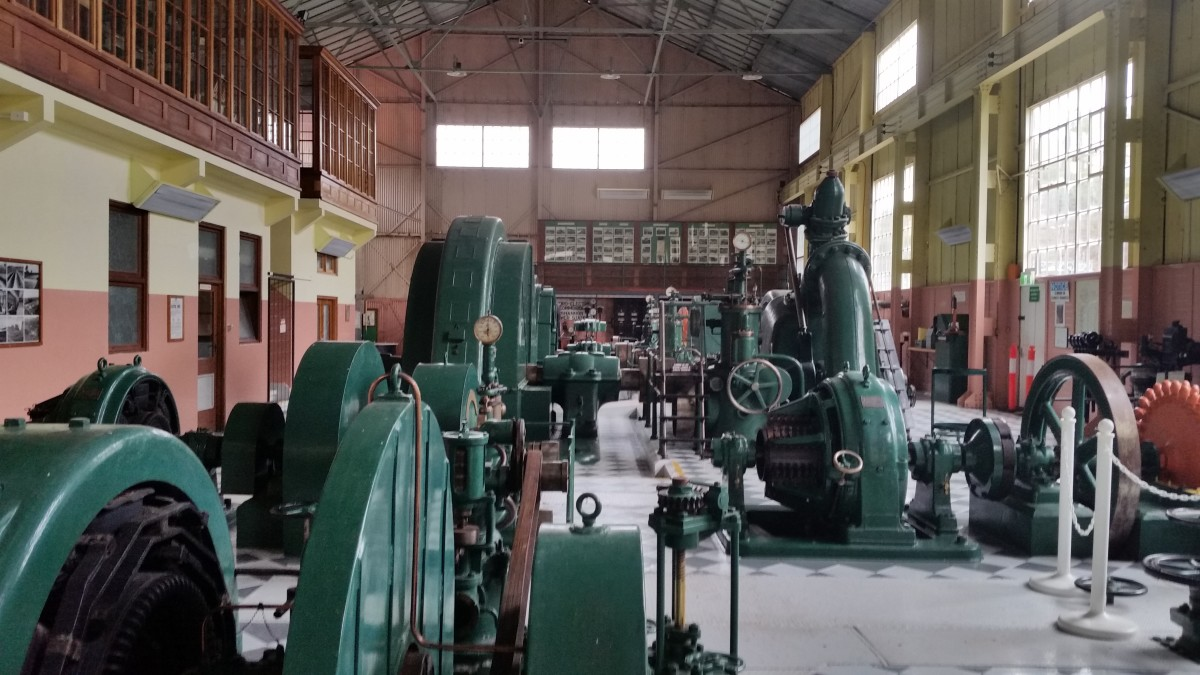 Machinery at Waddamana