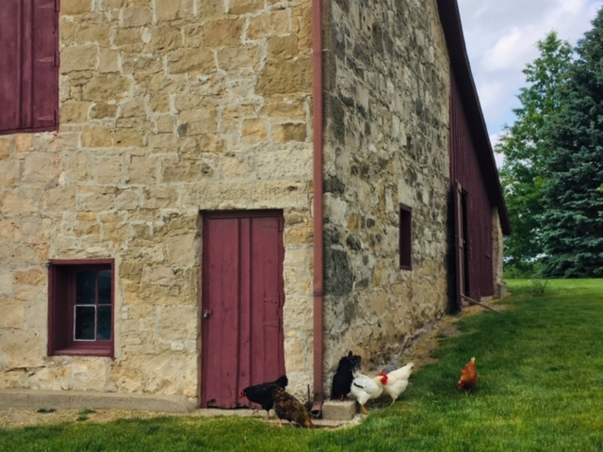 Stone barn, Madison County Historical Complex