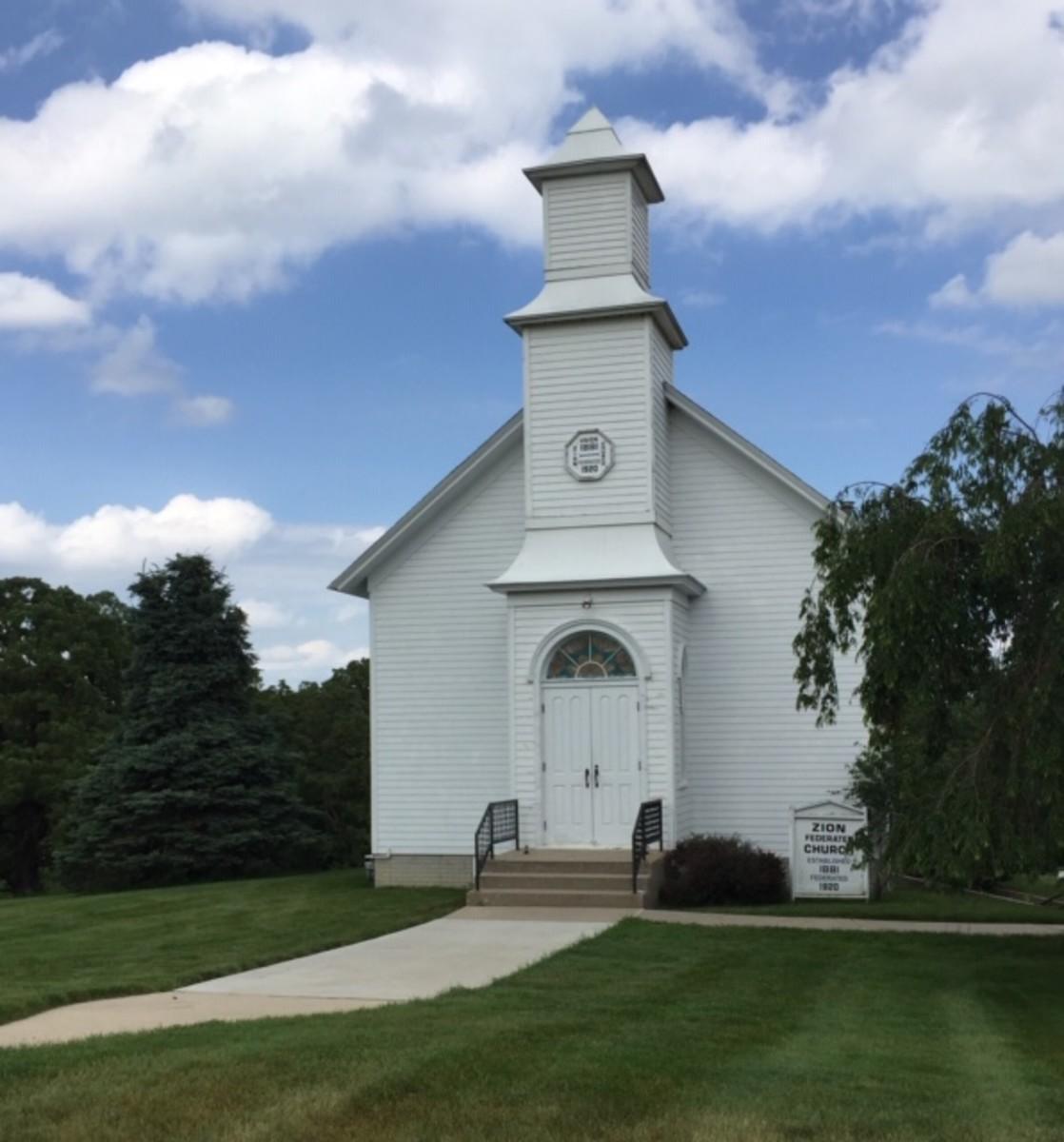Zion Church, Madison County Historical Complex