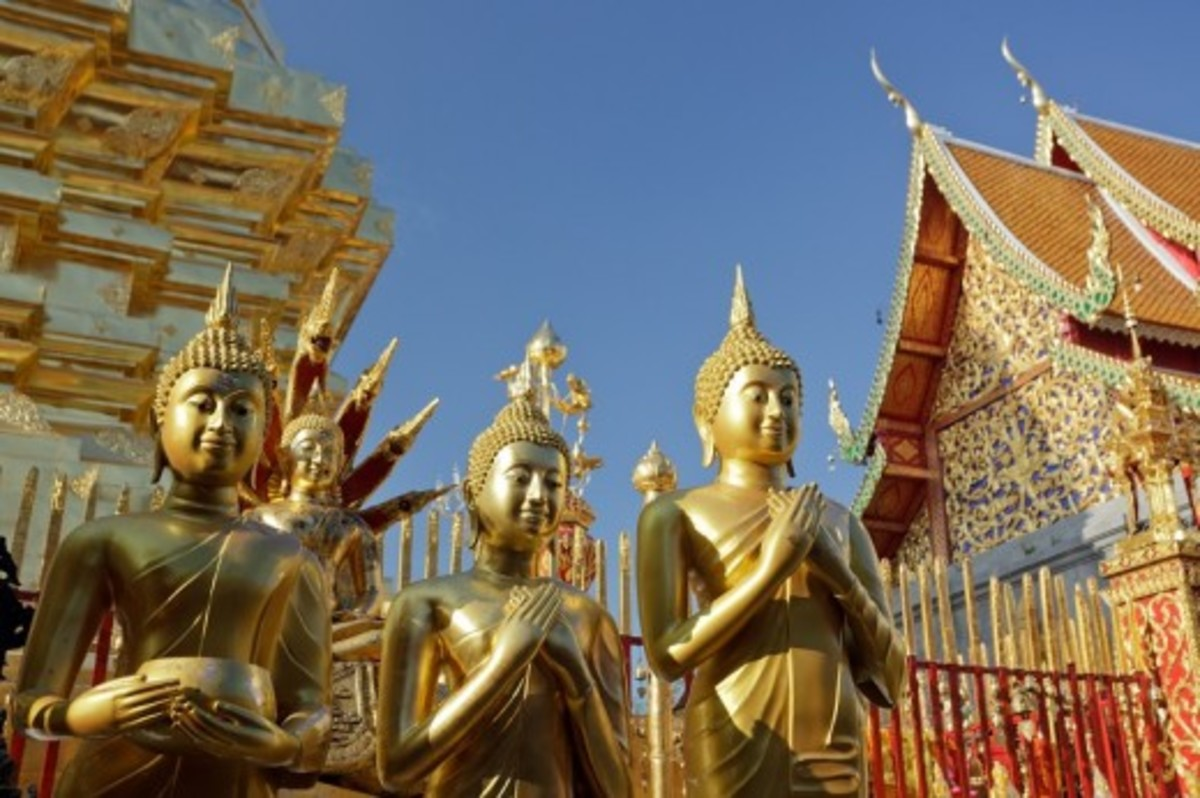 Don't miss the chance to visit a temple or two (or many more!) while in Chiang Mai.