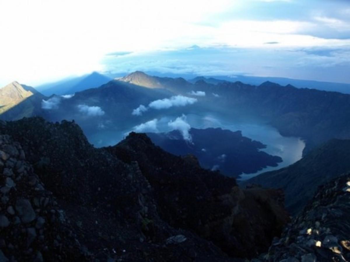 Rinjani Volcano