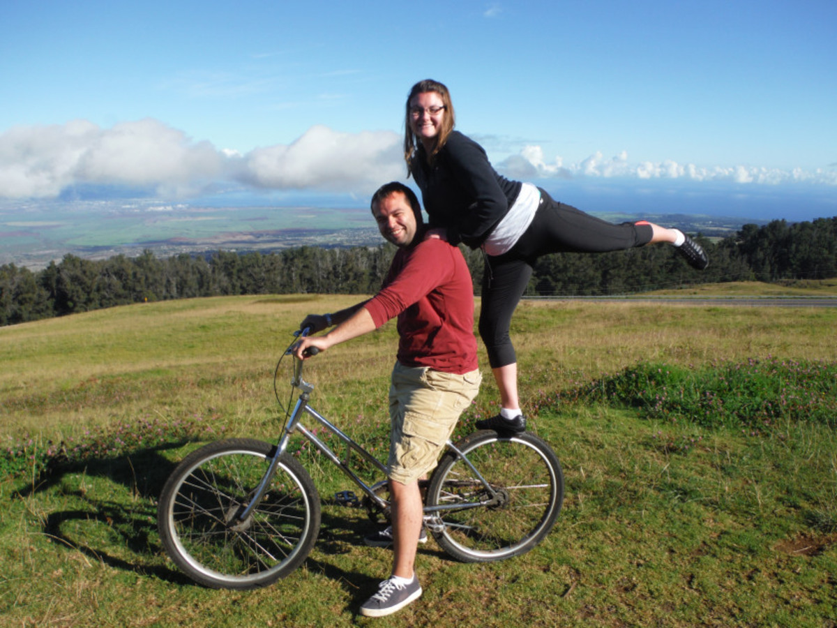 Take a gentle cycle down Maui's tallest peak and have fun along the way