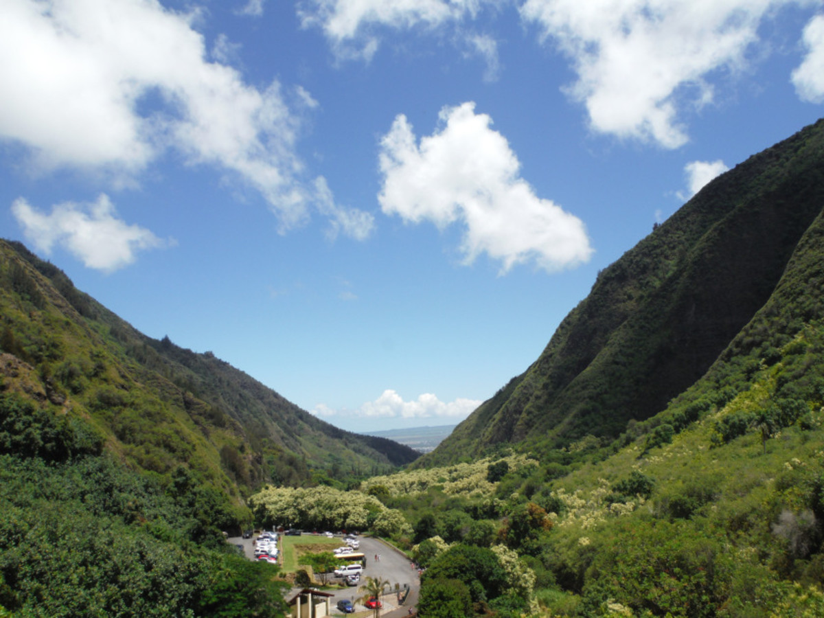 The beauty of the Iao State Park in Maui
