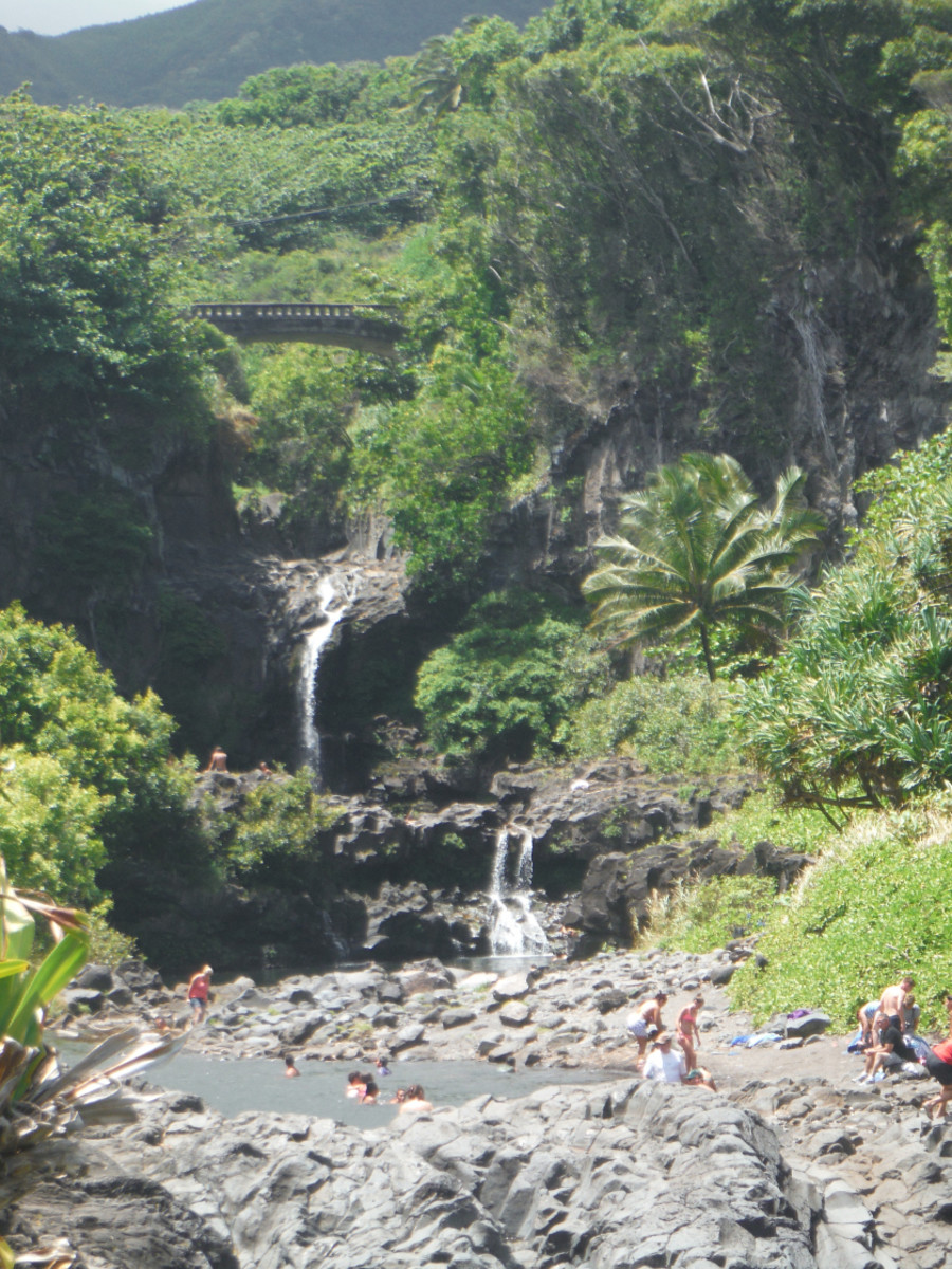 It's a popular stop for anyone visiting Maui, but the sacred pools are a must-visit for a reason