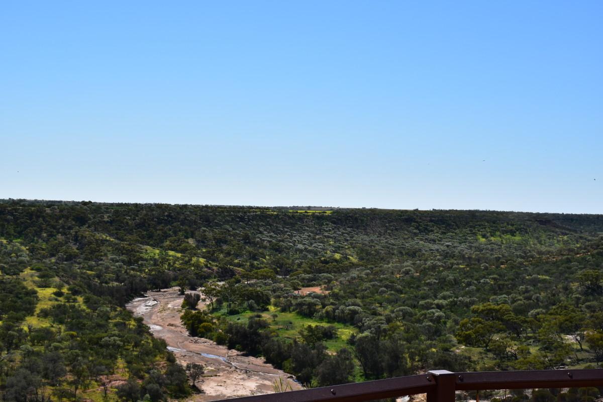 Coalseam - the Irwin River bed