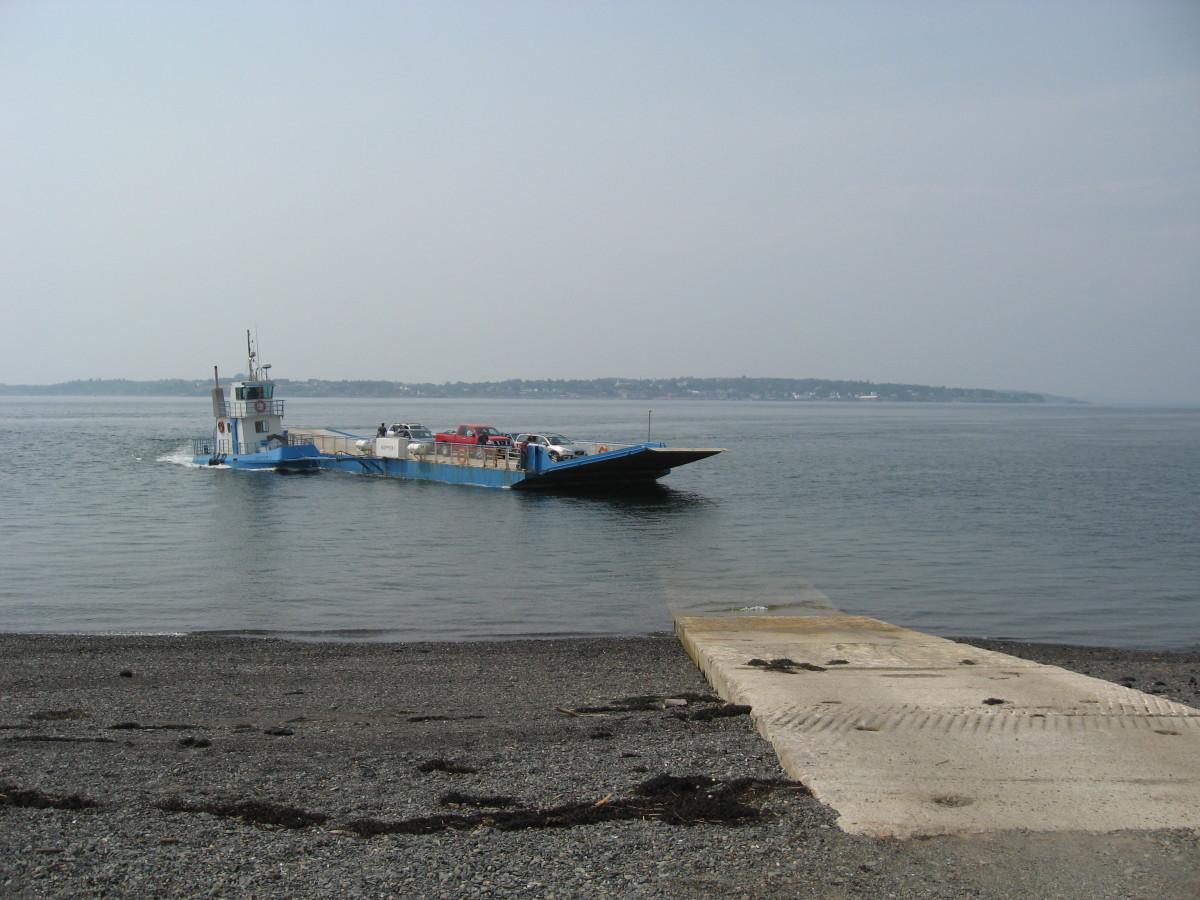 The car ferry.