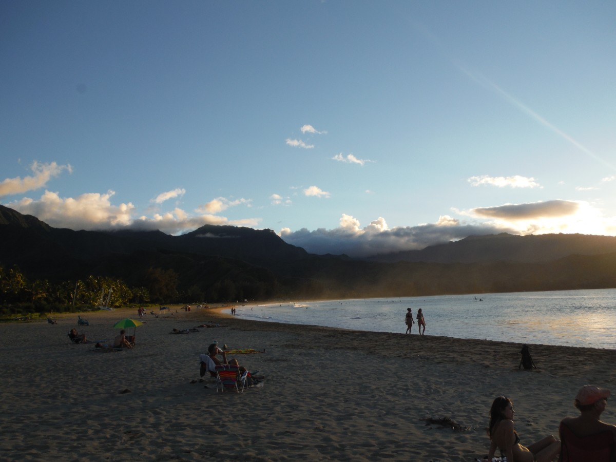 Kauai's famous North Shore is a beautiful spot to really explore and watch the sun set.