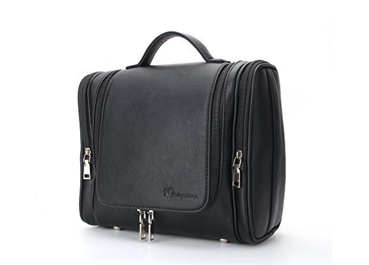 Avigo's Great-Looking Leather Toiletries Bag