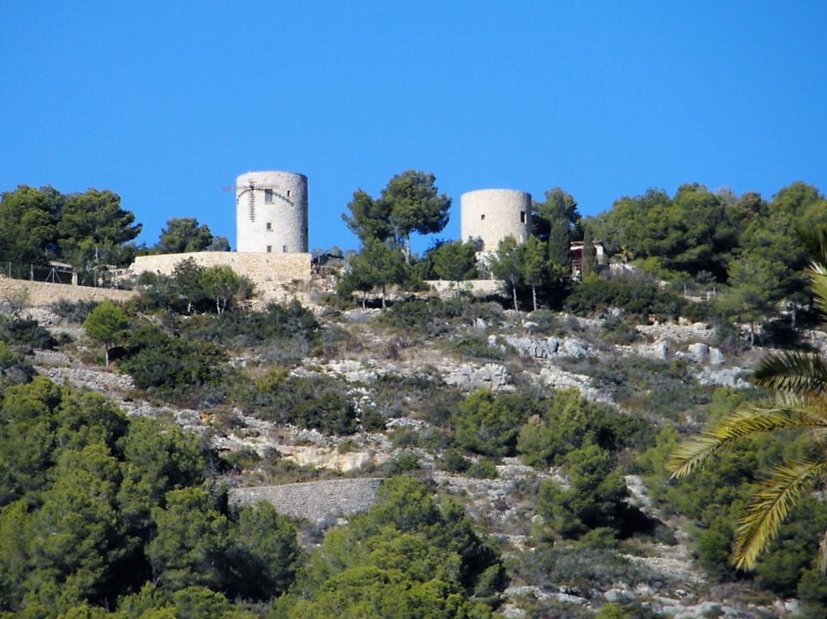 Windmills above Xabia.