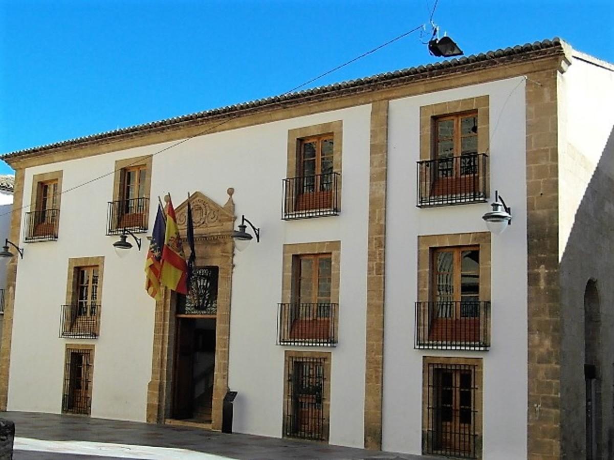 Xabia town hall.