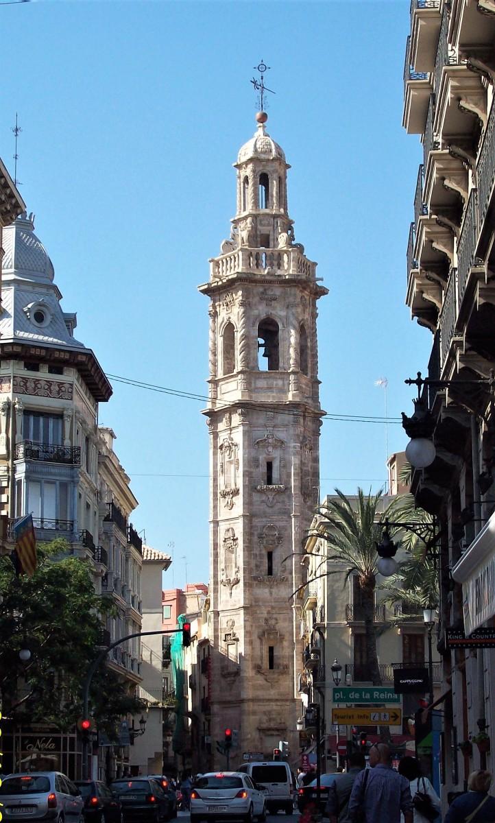 Tower of Santa Catalina church.