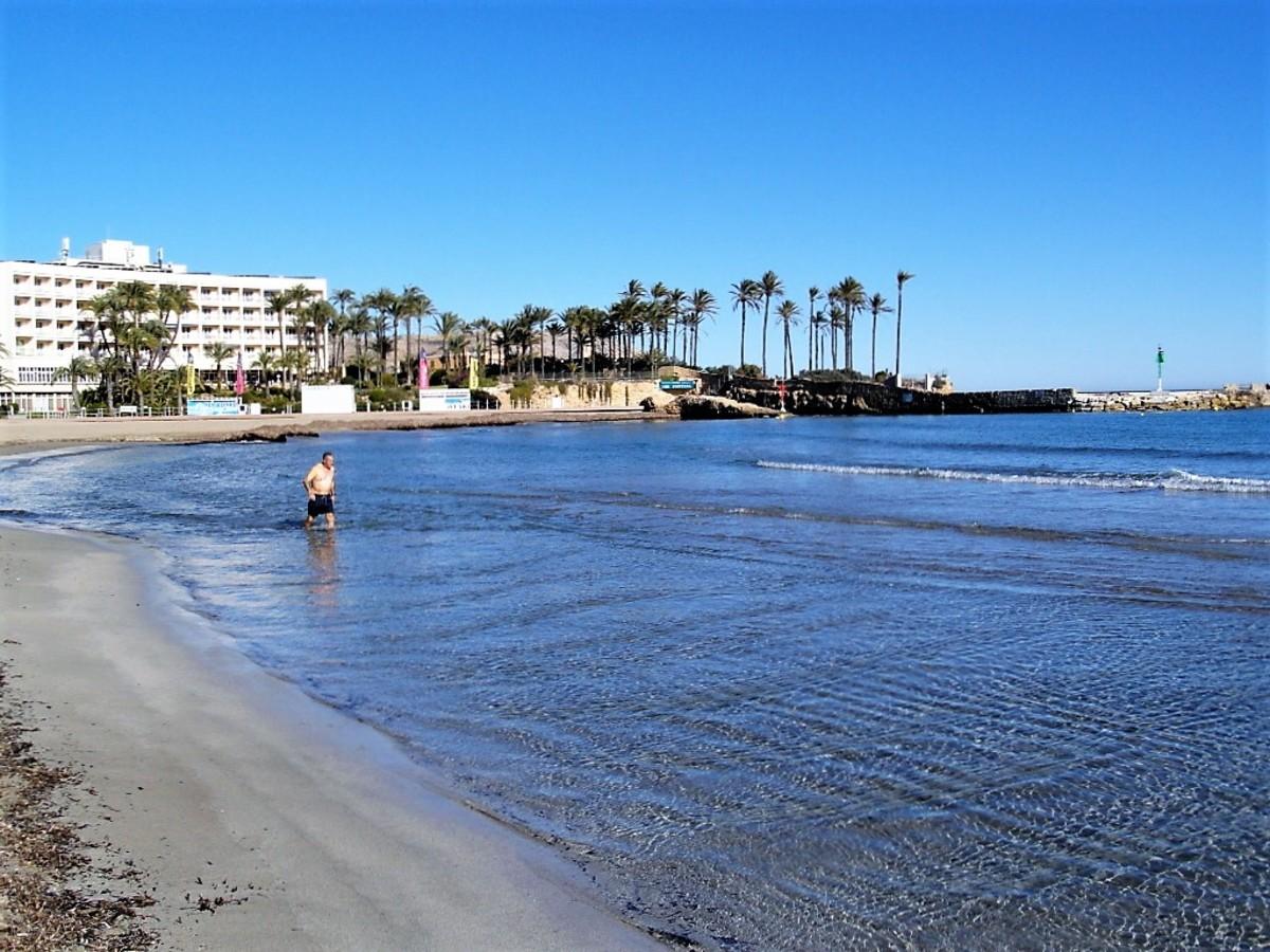Playa del Arenal, Xabia.