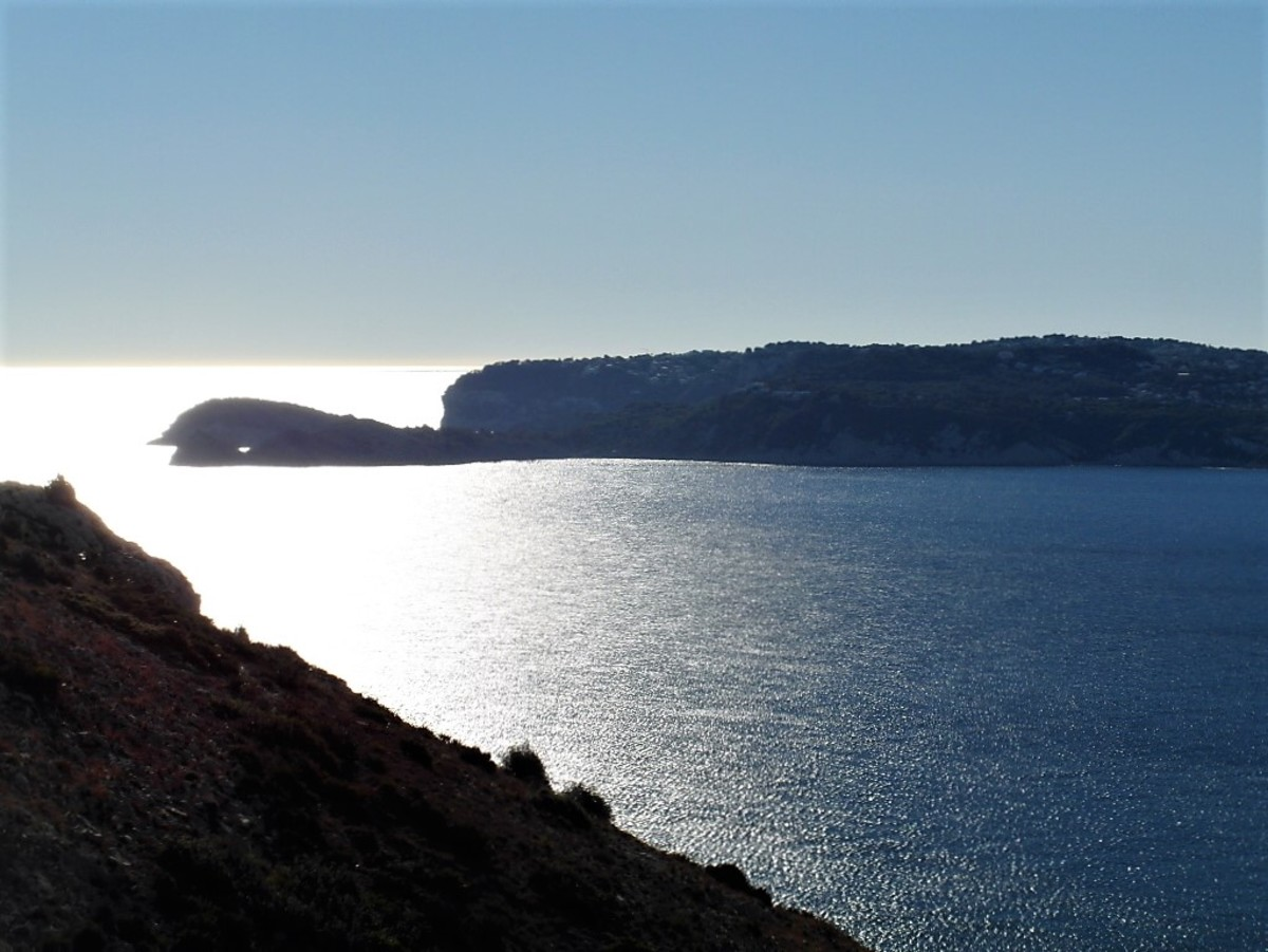 Across the bay from Cap de Sant Antoni.