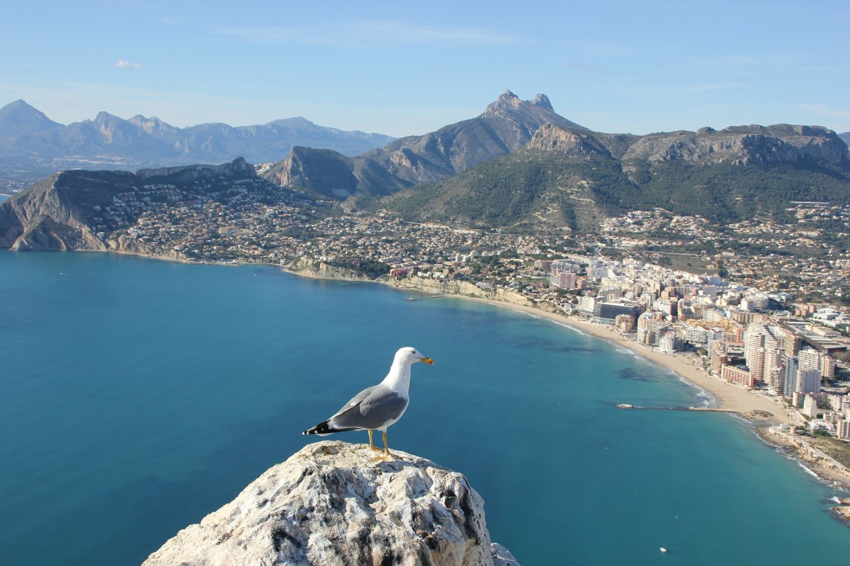 View from Penon d'Ifach.
