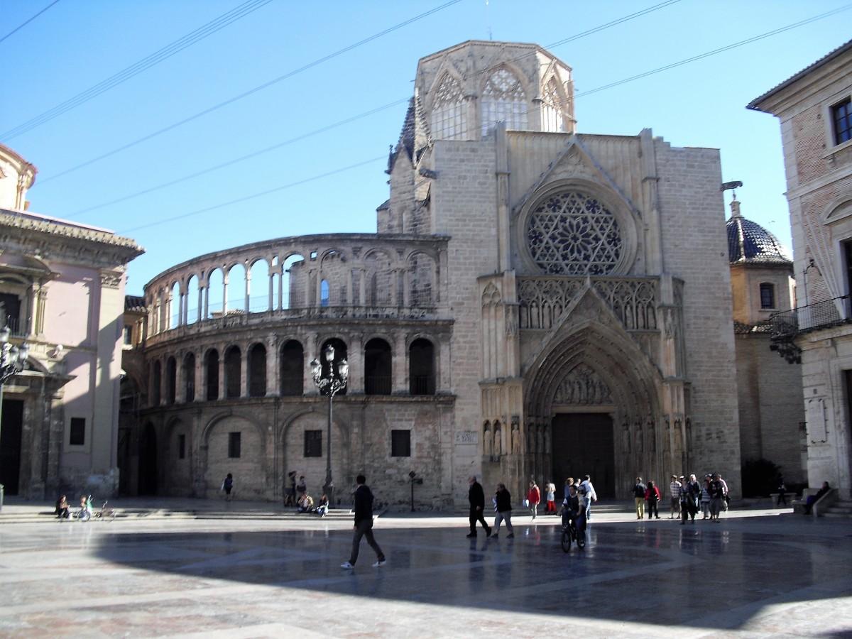 Plaza de la Virgen.