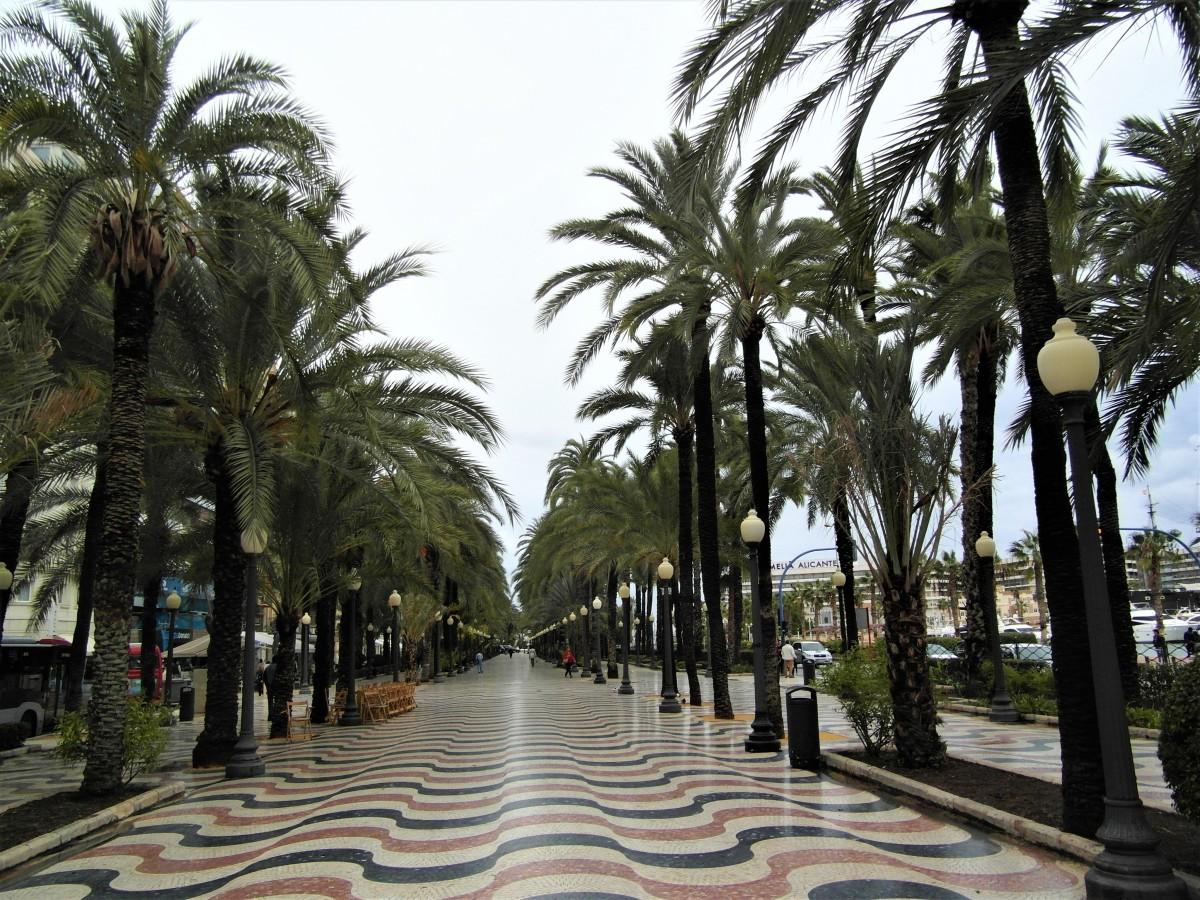 Paseo Esplanada de Espana.