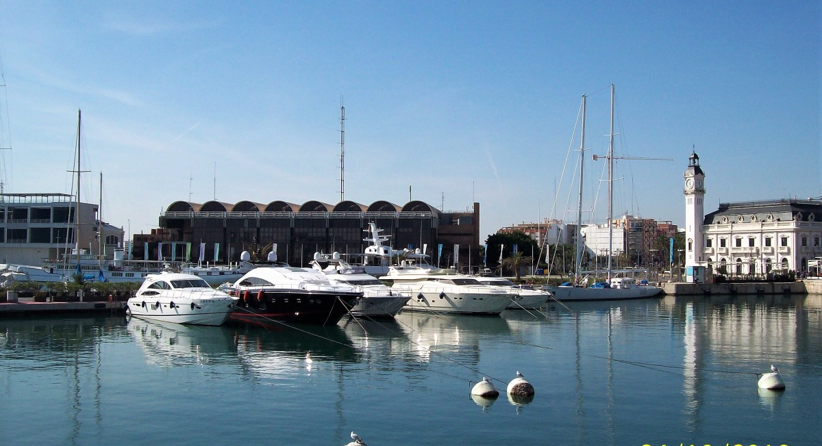 The Port of Valencia.