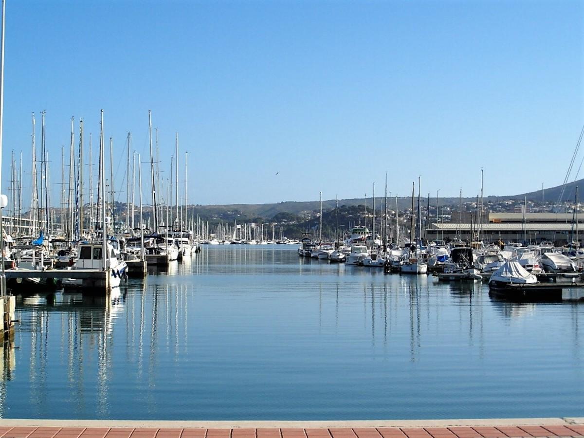 Port of Denia.
