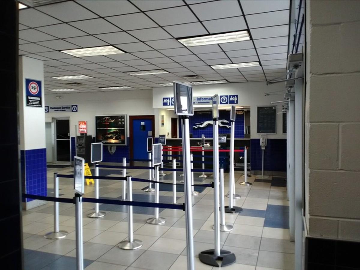 Interior of Tallahassee station