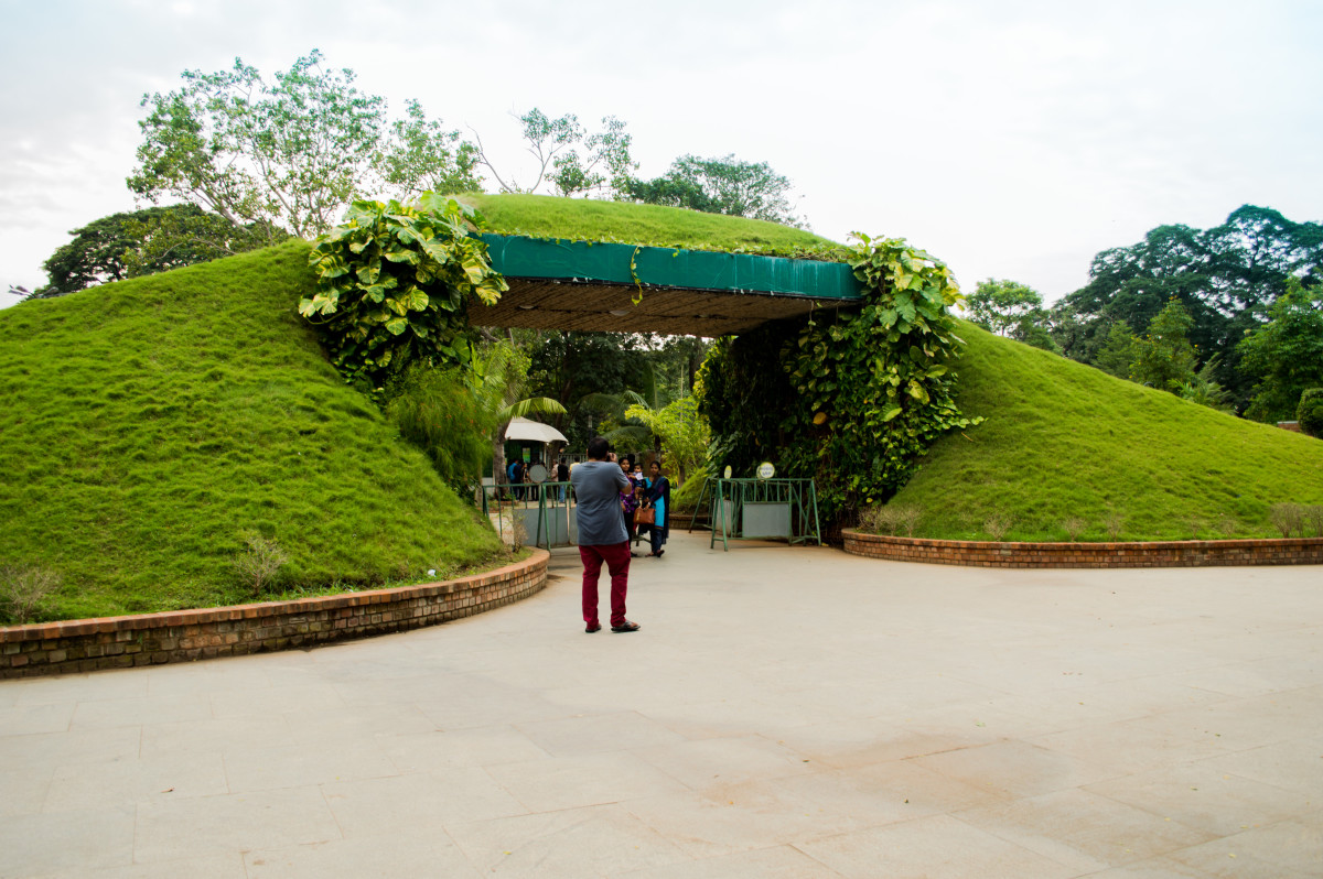 Entrance of Semmozhi Poonga