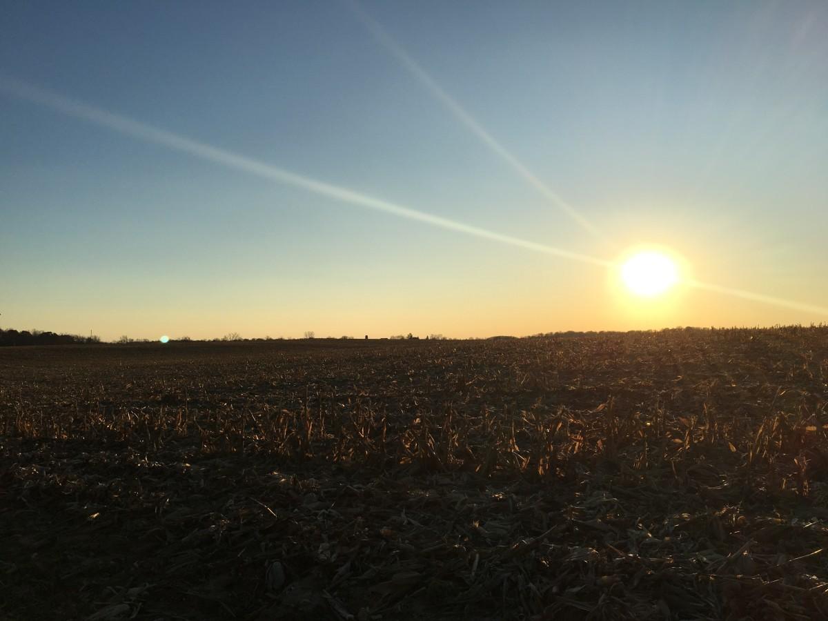 An Indiana Sunset