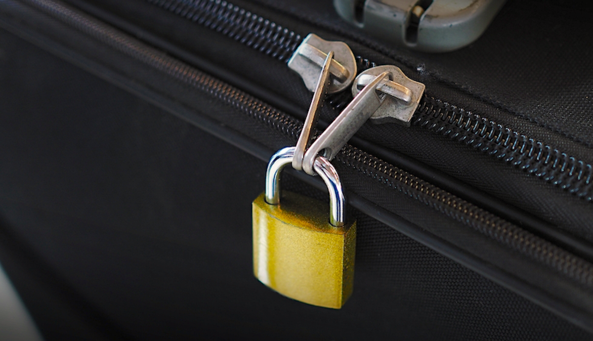 Luggage locks are a critical item to have with you on a Greyhound bus.