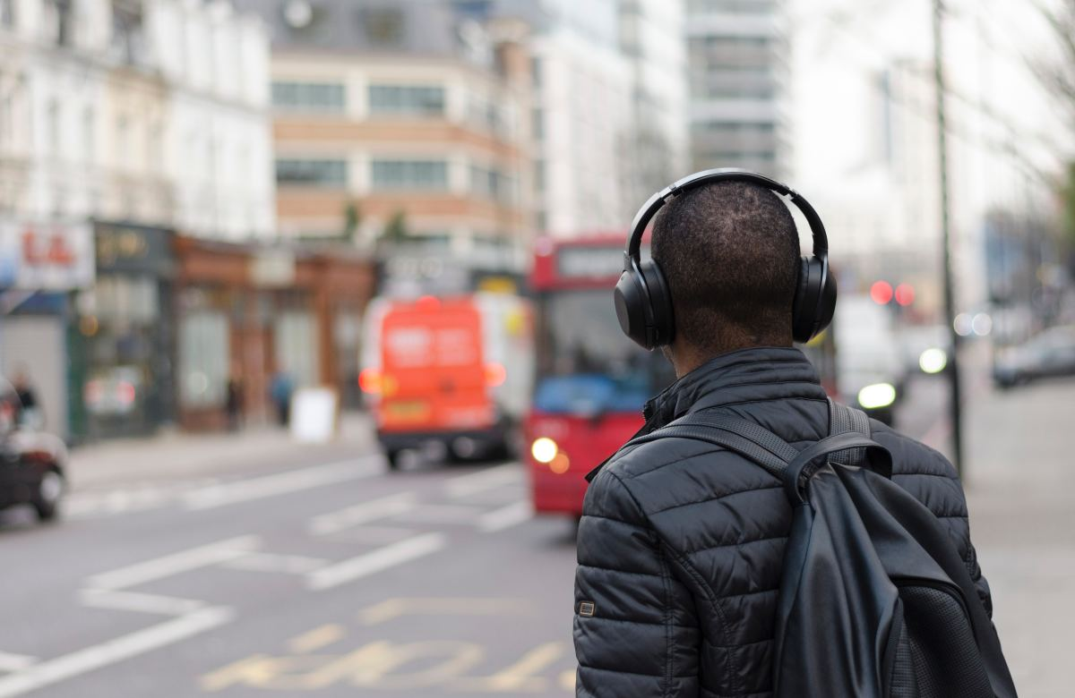 Headphones will make your Greyhound ride WAY more enjoyable. Trust me on this one.