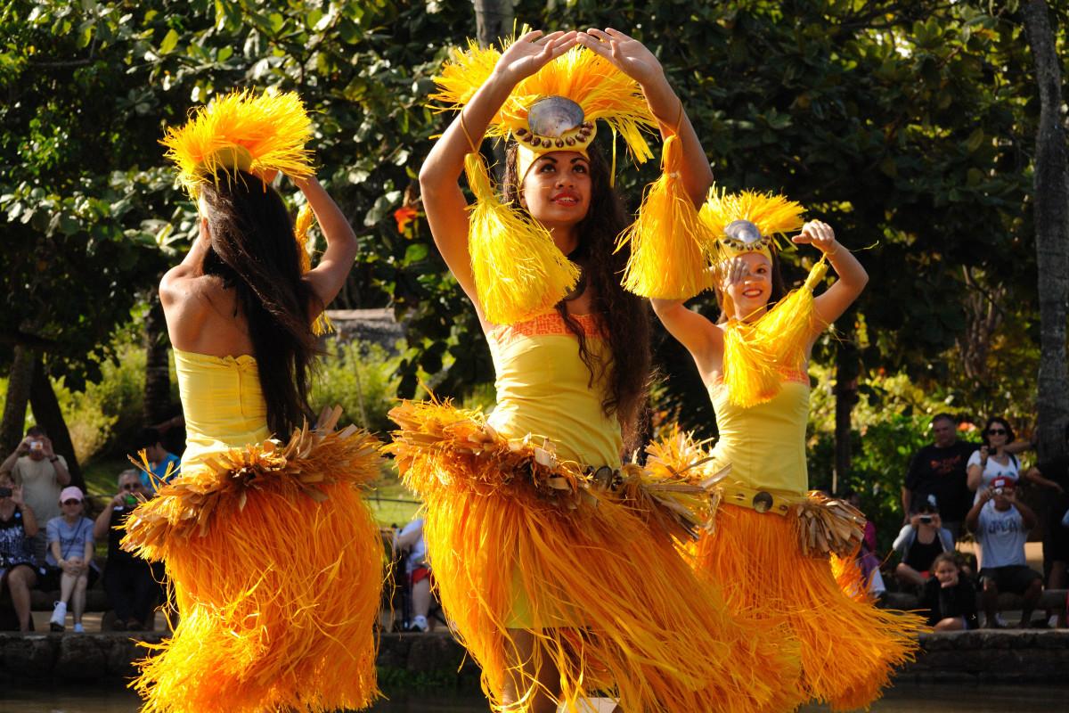 Tahitian Dance at the Polynesian Cultural Center
